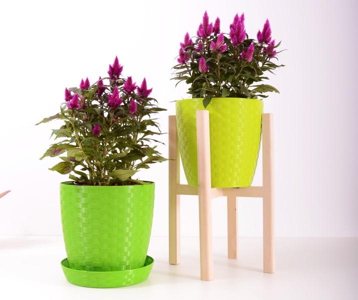 Plastové květináče